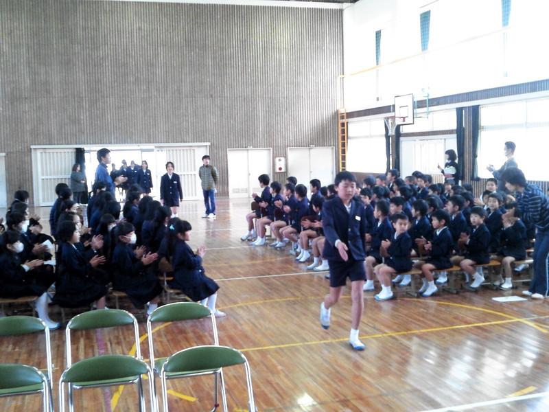 卒業式の練習