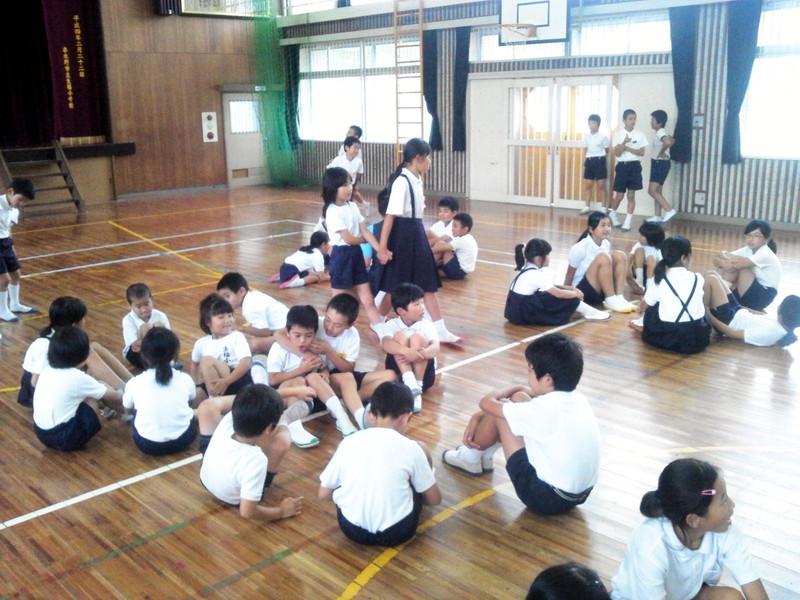 冠岳小学校との交流