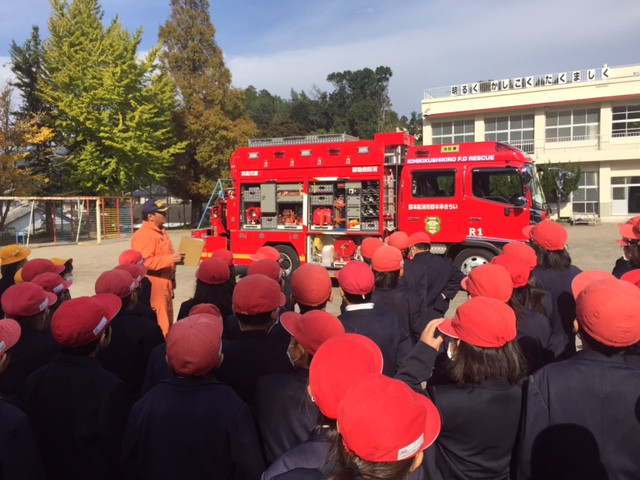 消防車のスゴさ❗️