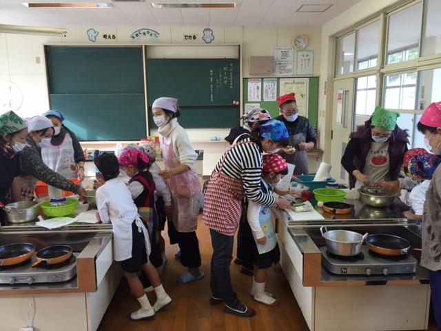 1年生親子料理教室♪