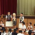1年生を迎える会♪(^_^)    その24年劇&5年お笑い&6年紙芝居