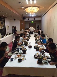 おいしい夕食でした❗️(^_^)